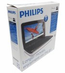 "PHILIPS <PET941D> Portable DVD/MPEG4/CD/MP3/JPEG Player (LCD 9"", ПДУ, TV out) БП+авто.Адаптер"