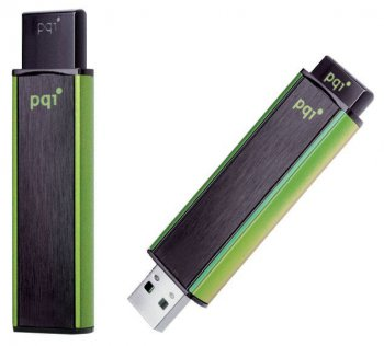 Накопитель USB PQI 4Gb Cool Drive USB 2.0 U350H Black/Green
