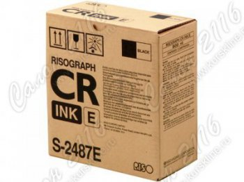 Краска RISO CR Black Type S-2487 (o)