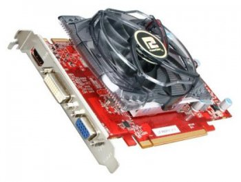 Видеокарта Power Color PCI-E ATI AX5670 1GBD5-H AX5670 1024 Мб DDR5 775/1000 CRT/HMDI/DVI RTL