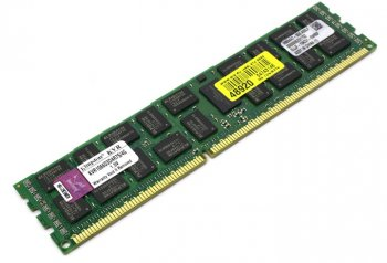 Оперативная память Kingston <KVR1066D3D4R7S/4G> DDR-III DIMM 4Gb <PC3-8500> ECC Registered with Parity CL7