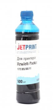 Чернила Jet-Print для HP №58/138/177 Light Cyan 0.5л
