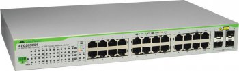 Коммутатор Allied Telesis AT-GS950/24 24 port 10/100/1000TX WebSmart switch with 2 SFP bays