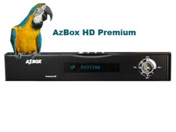 Ресивер спутникового телевидения AZBOX PREMIUM HD PVR (FullHD,1920х1080P, 2CI, ALLCARD, EMU, MEDIAPLAYER, AVI, MKV, WIFI, HDMI)