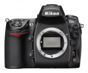 "Цифровой зеркальный фотоаппарат Nikon D700 Body (12.1Mpx, JPG/RAW, 0Mb CF type I, 3.0"", USB2.0, TV, HDMI, Li-Ion EN-EL3e)"