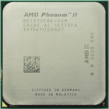 Процессор AMD Phenom II X4 970 Black Edition (HDZ970F) 3.5 ГГц/ 2+6 Мб/ 4000 МГц Socket AM3