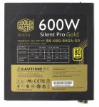 Блок питания Cooler Master Silent Pro RS-600-80GA-D3 600W ATX (24+2x4+2x6+2x6/8пин) Cable Management