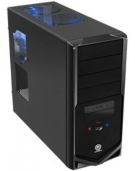 Корпус Thermaltake VM30001W2ZA V4 Black w/o PSU ATX SECC Window