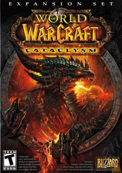 Дополнение к игре World of Warcraft: Cataclysm (дополнение) [PC, Jewel, русская версия]