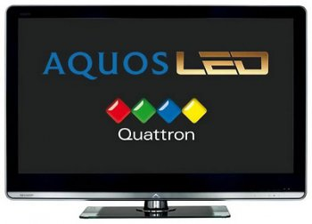"Телевизор-LCD 46"" Sharp LC46LX812E Black/Quattron FULL HD"