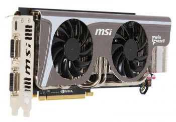 Видеокарта MSI PCI-E NV N580GTX-Twin Frozr ll OC GF580GTX 1536 Мб 384b DDR5 DVI*2+mini HDMI RTL