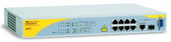 Коммутатор Allied Telesyn 8000/8POE 8Port POE Managed Fast Ethernet with one 10/100/1000T/