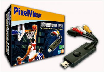 ТВ-тюнер TV- Pixelview USB Xcapture (USB Video Capture, Composite RCA, S-Video Input, Cyberlink PD)