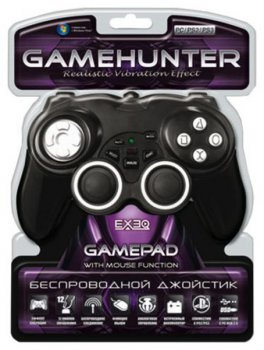 Геймпад EXEQ GameHater PS2/PS3/PC-USB (HY-884)