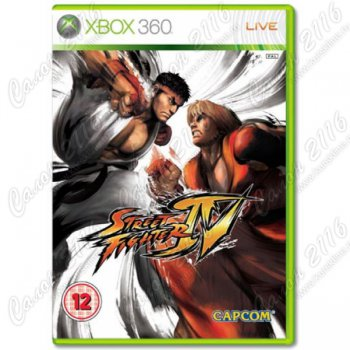 Игра для Xbox 360: Street Fighter IV