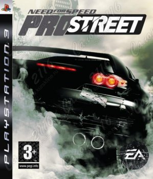 Игра для Sony PlayStation Need for Speed ProStreet (Platinum) (рус. верс.)