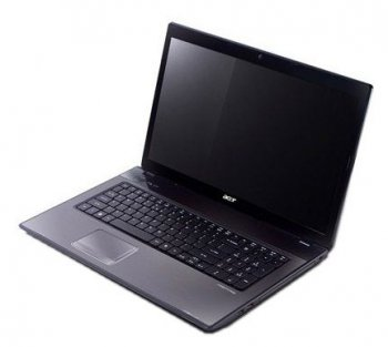 Ноутбук Acer AS7551G-N854G50Mikk Phenom N850/4G/500/1G Rad HD5650/DVD-RW/WF/Cam/W7HB/17""