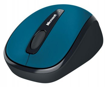Мышь беспроводная Microsoft Wireless Mobile Mouse 3500 (RTL) USB Mac/Win 3btn+Roll Sea B <GMF-00039>