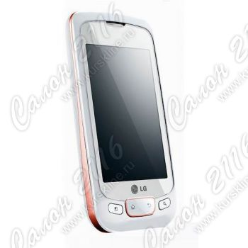 Смартфон LG P500 Optimus One Shining White
