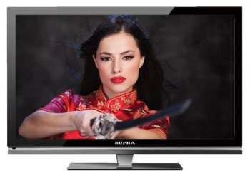 "Телевизор-LCD 42"" Supra S-LC4285FL серый FULL HD USB MediaPlayer (RUS)"