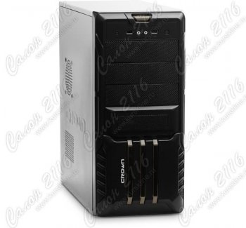 Корпус CROWN CMC-38 black ATX 450W