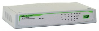Коммутатор Allied Telesyn GS900/5E 5port 10/100/1000TX unmanged switch with external powersupply