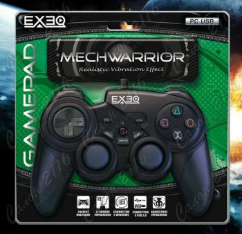 Геймпад EXEQ MechWarrior PC/USB (PC-028)