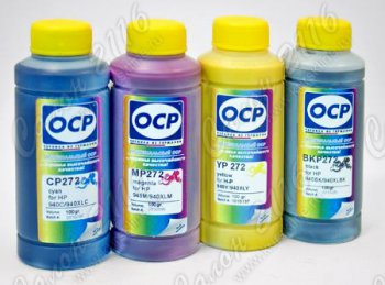 Чернила OCP для HP DJ CC640/641/CB316/321/CD971/975 Black (100ml)