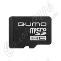 Карта памяти QUMO MicroSecureDigital High Capacity (microSDHC) 8Gb Class4 + адаптер microSD-->SD