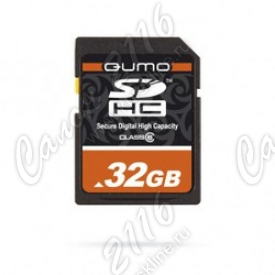 Карта памяти QUMO SecureDigital High Capacity (SDHC) 32Gb Class10