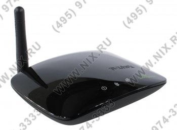 Точка доступа D-Link <DAP-1155> Wireless N150 Bridge/Access Point (2UTP 10/100Mbps, 802.11n/g, 150Mbps)
