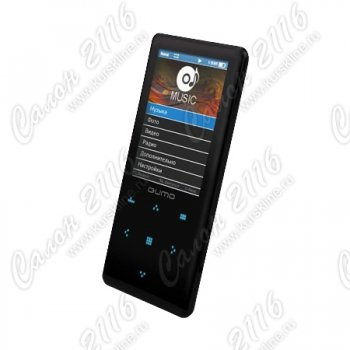 Плеер MP3 Qumo Neon - 4Gb Black