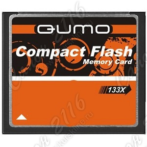 Карта памяти QUMO <QM4GCF133> CompactFlash Card 4Gb 133x