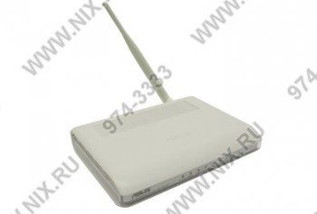Маршрутизатор ASUS RT-N10U Wireless N Router (802.11b/g/n, 4UTP 10/100 Mbps, 1WAN, USB, 150Mbps)