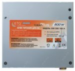 Блок питания ETG Advanced <ESP-500-12H-A> 500W ATX (24+4+6пин)