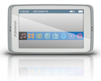 "Плеер MP3 Digma Insomnia3 4Gb FM 3"" TFT display white"