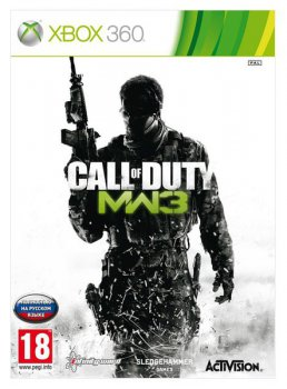 Игра для Xbox Call of Duty: Modern Warfare 3 (рус. верс.)
