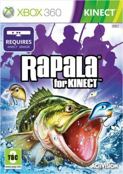 Игра для Xbox 360: KINECT: Rapala Fishing for Kinect
