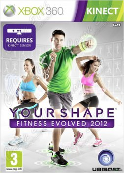 Игра для Xbox 360: KINECT: Your Shape: Fitness Evolved 2012 (рус. верс.)