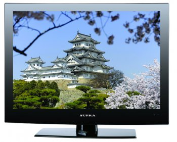"Телевизор-LCD 15"" Supra S-LC1515W black HD Ready RUS"
