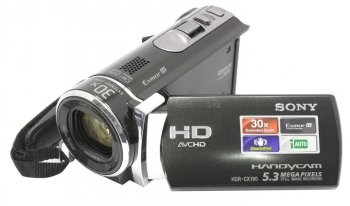 "Видеокамера SONY HDR-CX190E <Black> (1.5Mpx, 25xZoom, стерео, 2.7"", MS Duo/SDXC, USB/HDMI)"