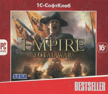 Компьютерная игра Bestseller. Empire: Total War [PC, Jewel]