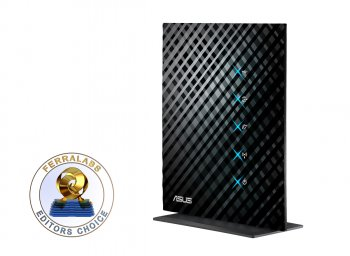 Маршрутизатор ASUS RT-N15U Wireless N Router (RTL) (802.11b/g/n, 4UTP 10/100/1000 Mbps, 1WAN, 1USB, 300Mbps)