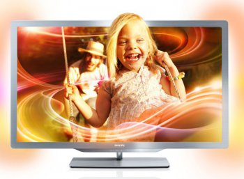 "Телевизор-LCD 47"" Philips 47PFL7606H/60 черный FULL HD 3D 400Hz USB Smart Ambilight(RUS)"
