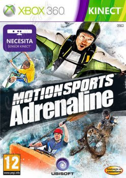 Игра для Xbox 360: KINECT: MotionSports Adrenaline (рус. коробка)