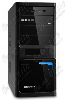 Корпус CROWN CMC-44 black ATX без БП
