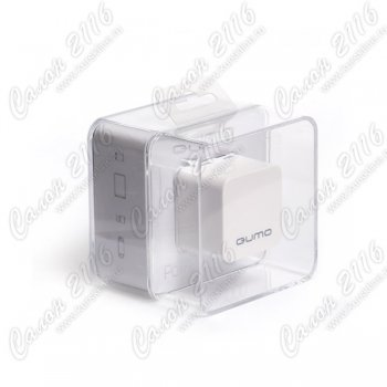 Портативный аккумулятор QUMO PoverAid 2000 white (iPhone/iPod/HTC/Blackberry/ SonyEricsson/ Nokia/SonyPSP/LG/Samsung/ other mobile device)