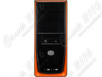 Корпус Miditower Cooler Master <RC-310-OKPL-GP> Elite310 Black&OrangeATX (без БП)