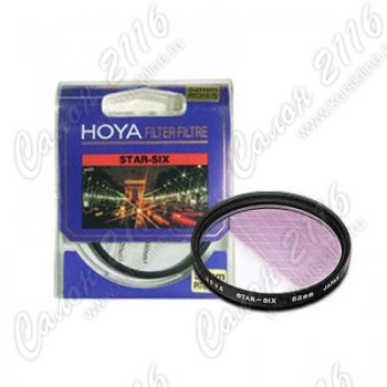 Светофильтр HOYA Star Six 62mm 76099 (Made in Japan)
