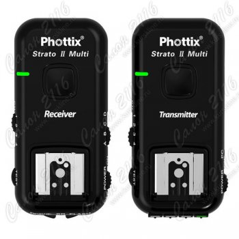 Синхронизатор для вспышки Phottix Strato II 5-in-1 Wireless Trigger для Canon 15651 с кабелями